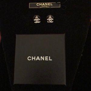 Chanel Crystal 05C Boucles Oreille Earrings